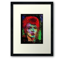 A  Tribute to David Bowie Framed Print