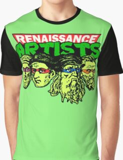 Renaissance Artists Graphic T-Shirt