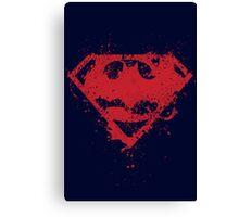Super Bat Canvas Print