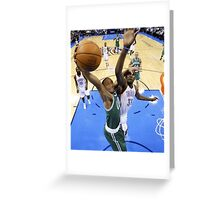 Lil B Dunks on Kevin Durant (Cursed) Greeting Card