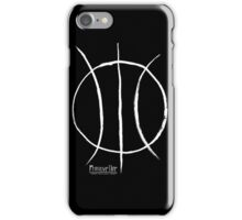 Basketball Symbol WoB iPhone Case/Skin