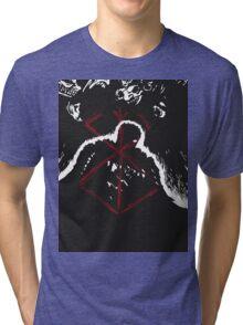 Berserk - Guts - Sacrifice BLACK Tri-blend T-Shirt