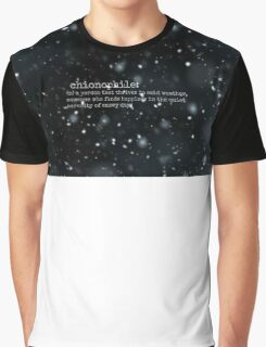 Chionophile. Graphic T-Shirt