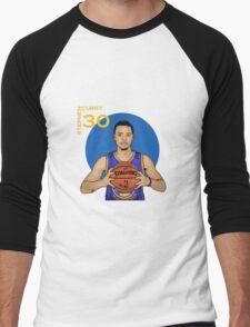 Stephen Curry 30  Men's Baseball ¾ T-Shirt