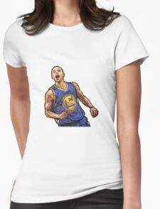 Stephen Curry5  Womens Fitted T-Shirt