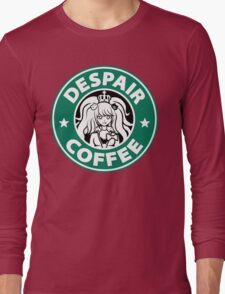 Despair Coffee (Danganronpa) Long Sleeve T-Shirt