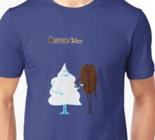 Love is... coffee and cream Unisex T-Shirt