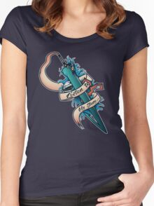 My Story (Final Fantasy) Women's Fitted Scoop T-Shirt