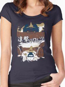 Attack on Waltz - Shingeki no Waltz (Final Fantasy IX) Women's Fitted Scoop T-Shirt