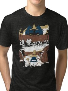 Attack on Waltz - Shingeki no Waltz (Final Fantasy IX) Tri-blend T-Shirt