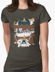 Attack on Waltz - Shingeki no Waltz (Final Fantasy IX) Womens Fitted T-Shirt