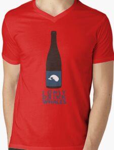 I Only Drink Whales (Craft Beer Geeks) Mens V-Neck T-Shirt