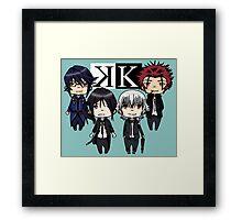 K project chibi Framed Print