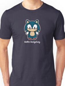 Hello Hedgehog (Sonic) Unisex T-Shirt