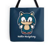 Hello Hedgehog (Sonic) Tote Bag
