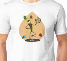 Dancer in disco Unisex T-Shirt