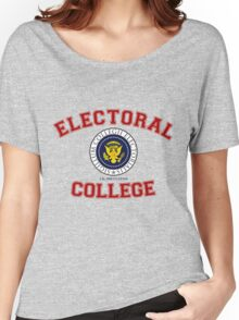 Electoral College-Collegiate Design Women's Relaxed Fit T-Shirt