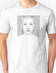 Annie Lennox Original Artwork by Glenys Everest T-Shirt
