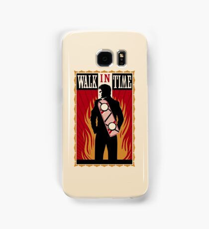 Walk in Time (Back to the Future) Samsung Galaxy Case/Skin