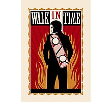 Walk in Time (Back to the Future) Photographic Print