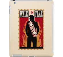 Walk in Time (Back to the Future) iPad Case/Skin