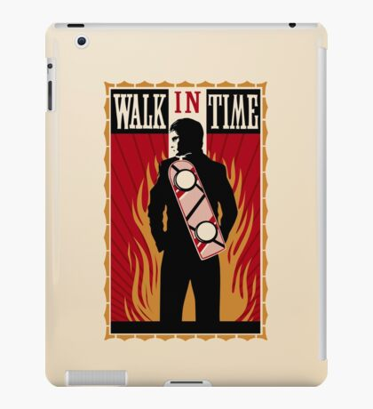 Walk in Time (Back to the Future) iPad Case/Skin