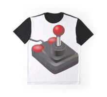 Retro Joystick Graphic T-Shirt