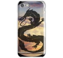 Dragon Haku Spirited Away clouds iPhone Case/Skin
