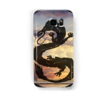 Dragon Haku Spirited Away clouds Samsung Galaxy Case/Skin