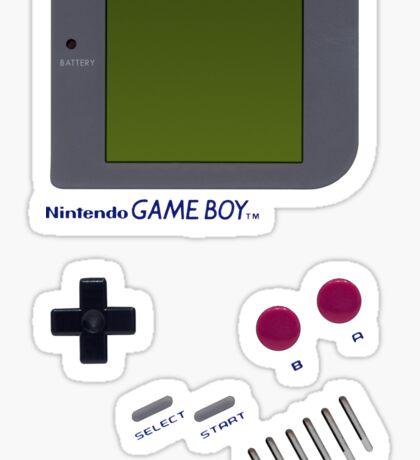 Game boy Sticker