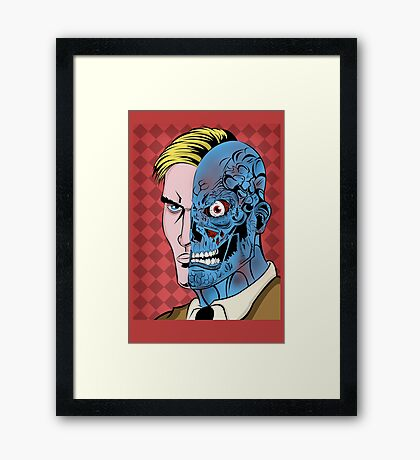 I Want You To Trust Me (COLOR) Framed Print