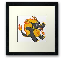 Trivate the Dragon Framed Print