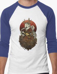 Dragon Samurai - Colour Men's Baseball ¾ T-Shirt