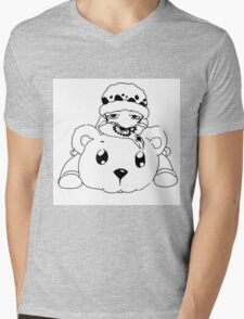 Traffy and Bepo Mens V-Neck T-Shirt
