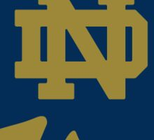 Notre Dame Sticker Sticker