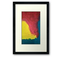 Pansexual flag Framed Print