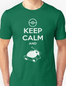 Keep Calm and... zZz T-Shirt