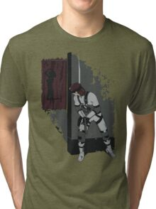 Don't go Snaking on me! (Metal Gear Solid) Tri-blend T-Shirt