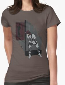 Don't go Snaking on me! (Metal Gear Solid) Womens Fitted T-Shirt