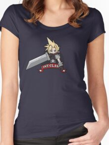1ST CLASS SOLDIER (Final Fantasy VII) Women's Fitted Scoop T-Shirt