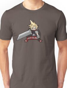 1ST CLASS SOLDIER (Final Fantasy VII) Unisex T-Shirt