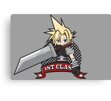 1ST CLASS SOLDIER (Final Fantasy VII) Canvas Print