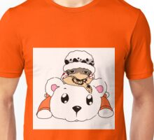 Traffy and Bepo (Coloured) Unisex T-Shirt