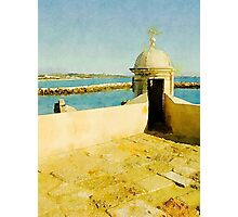 Mediterranean View by John Springfield Photographic Print