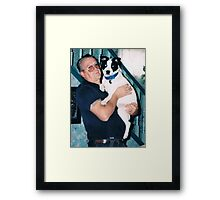 The Baby and Pops Framed Print
