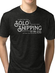 Solo Shipping Co. Tri-blend T-Shirt