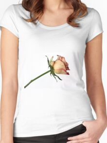 A rose for you Women's Fitted Scoop T-Shirt