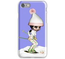 Skiing On The Snow iPhone Case/Skin
