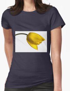 Tulipa 'Yellow Purissima' Womens Fitted T-Shirt