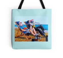Seaside Super Heroes Tote Bag